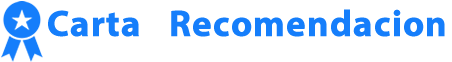 CartaDeRecomendacion.org