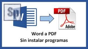 Cómo guardar y convertir un documento de Word a PDF